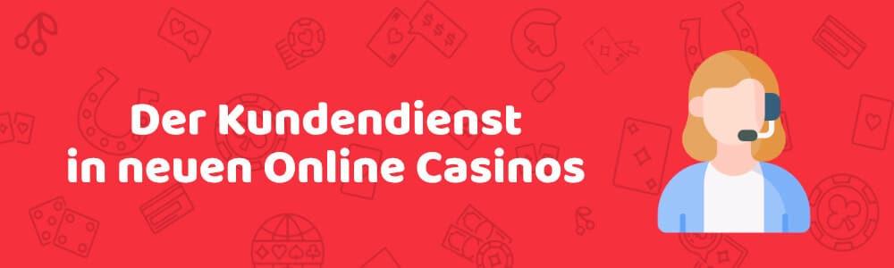 Der Kundendienst in neuen Online Casinos - austrocasino.com