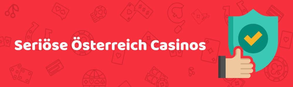 Seriöse Österreich casinos austrocasino.com